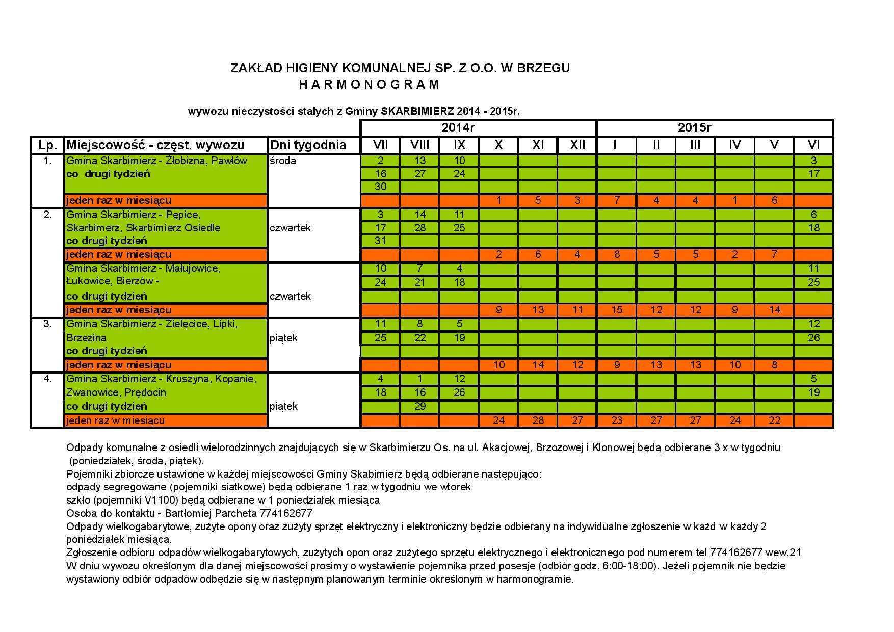 kopia harmonogram  wywozu z g. skarbimierz 2014 - 2015 (1)-page-001